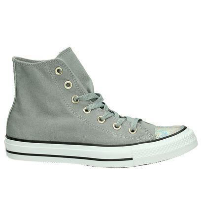Zwarte Converse Chuck Taylor All Star Hi Sneakers, Grijs, pdp