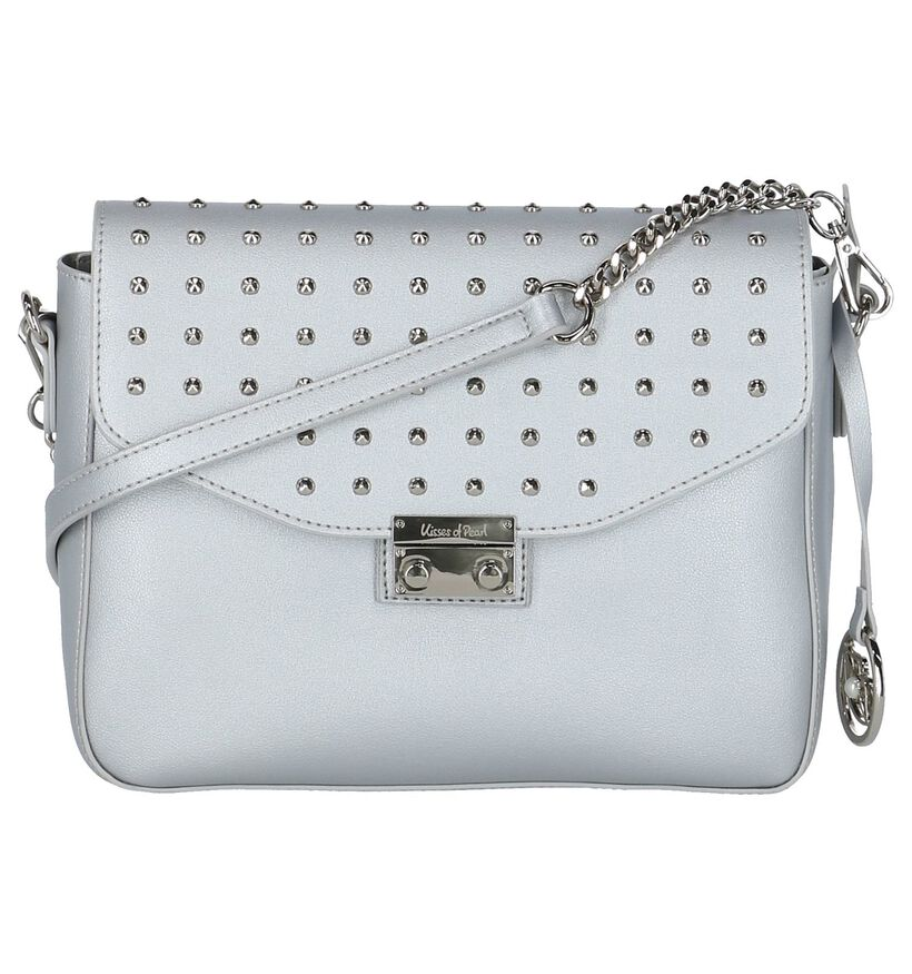 Zilveren Cross Body Kisses of Pearl Sigrid in kunstleer (218388)