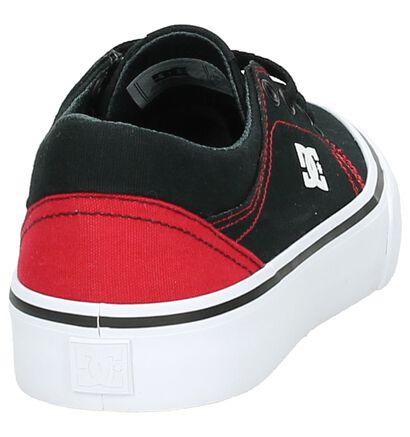 Zwarte Lage Skate Schoenen DC Shoes Trase TX, Zwart, pdp