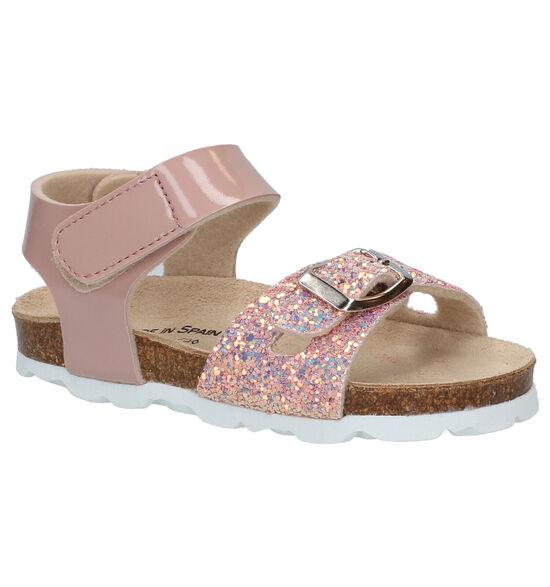 Made in Spain Roze Sandalen