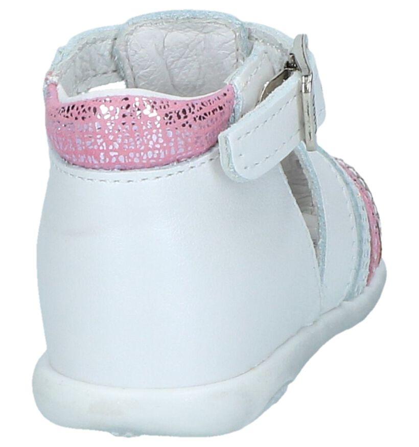 Witte Sandaaltjes Bopy Zimel in leer (242835)
