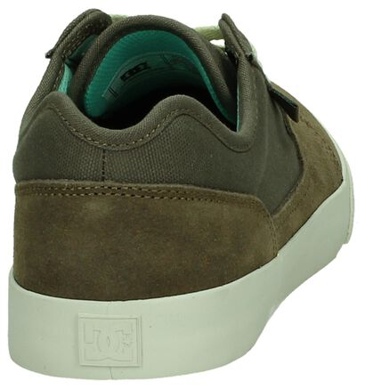 DC Shoes Tonik Zwarte Skatesneakers in daim (263840)
