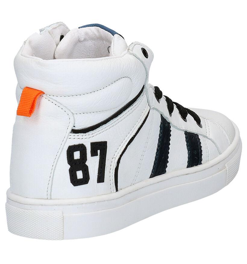 Kipling Daytona Witte Hoge Schoenen in leer (282900)