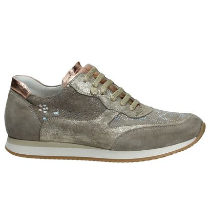 Via Roma by Torfs Taupe Sneaker in daim (175003)