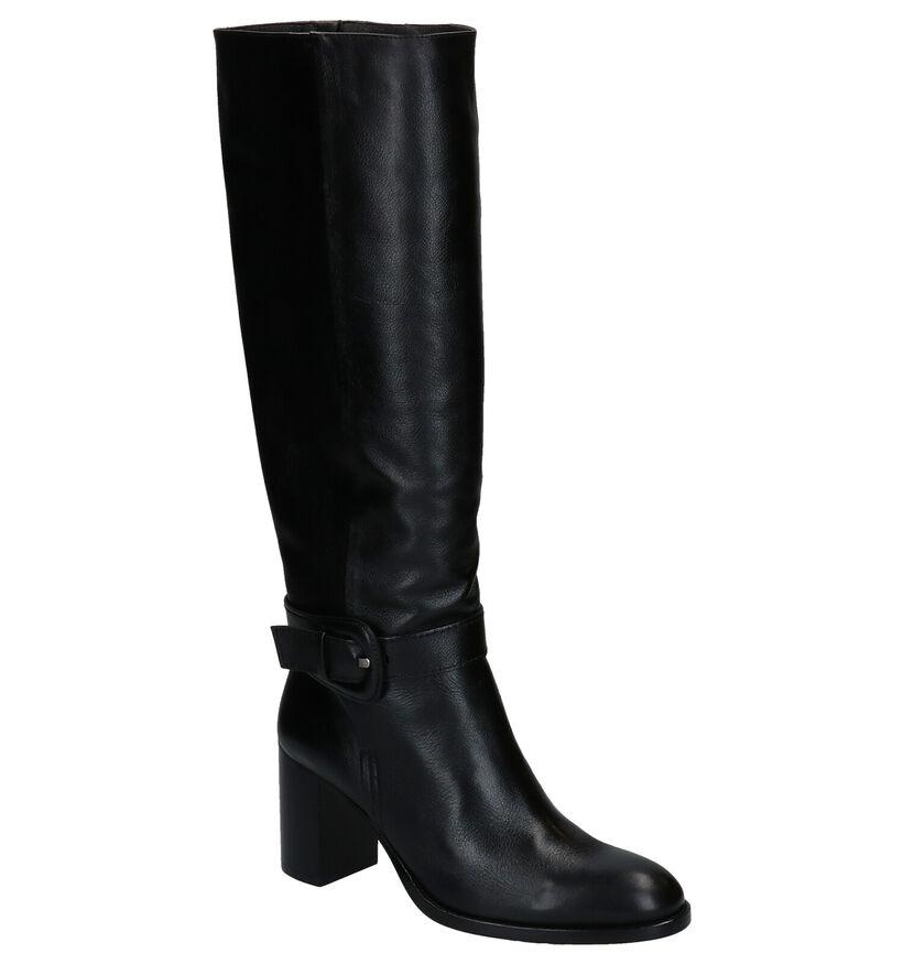 Zinda Zwarte Laarzen in leer (283713)