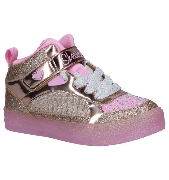 Skechers Twinkle Toes Sneakers Roze