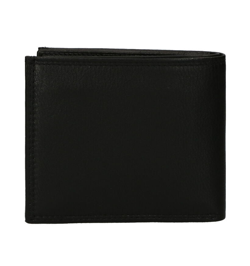 Euro-Leather Zwarte Portefeuille in leer (279374)