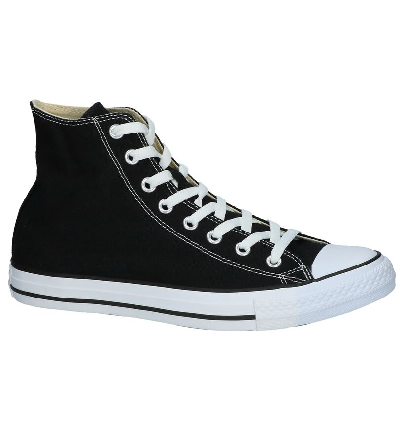 Zwarte Hoge Sneakers Converse Chuck Taylor AS in stof (238380)