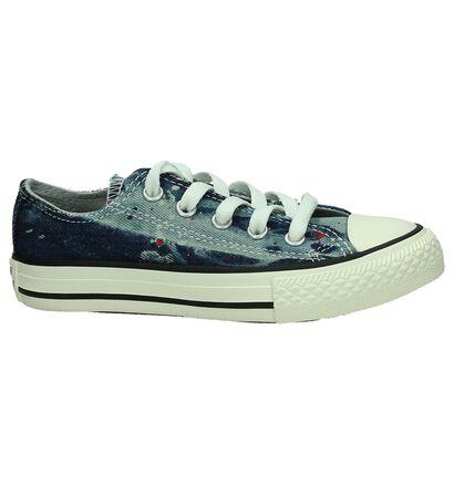 Zwarte Sneakers Converse Chuck Taylor AS OX, Blauw, pdp