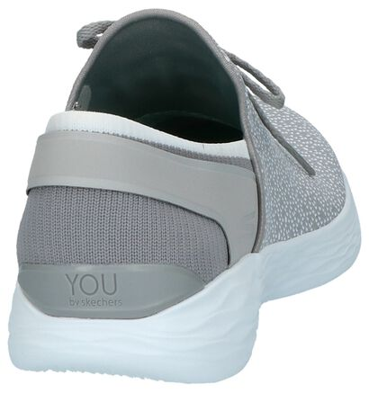 Slip-on Sneakers Grijs YOU by Skechers, Grijs, pdp