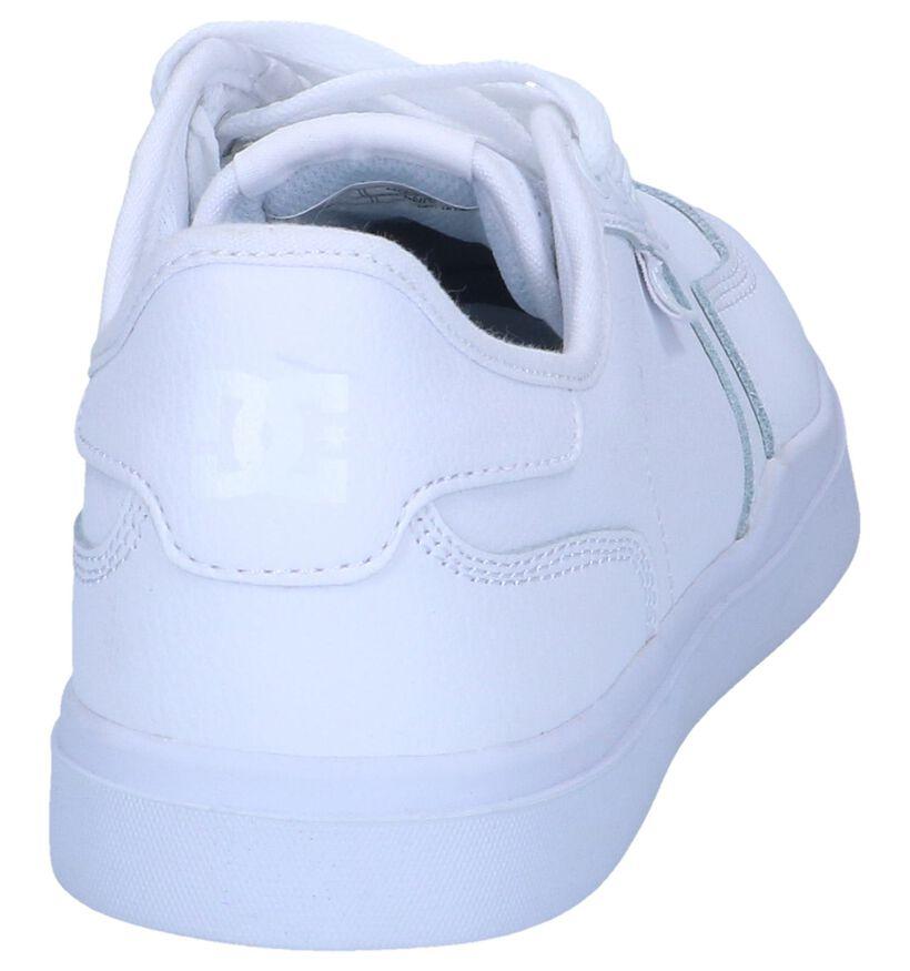 Witte Skateschoenen DC Shoes Vestrey in kunstleer (241063)