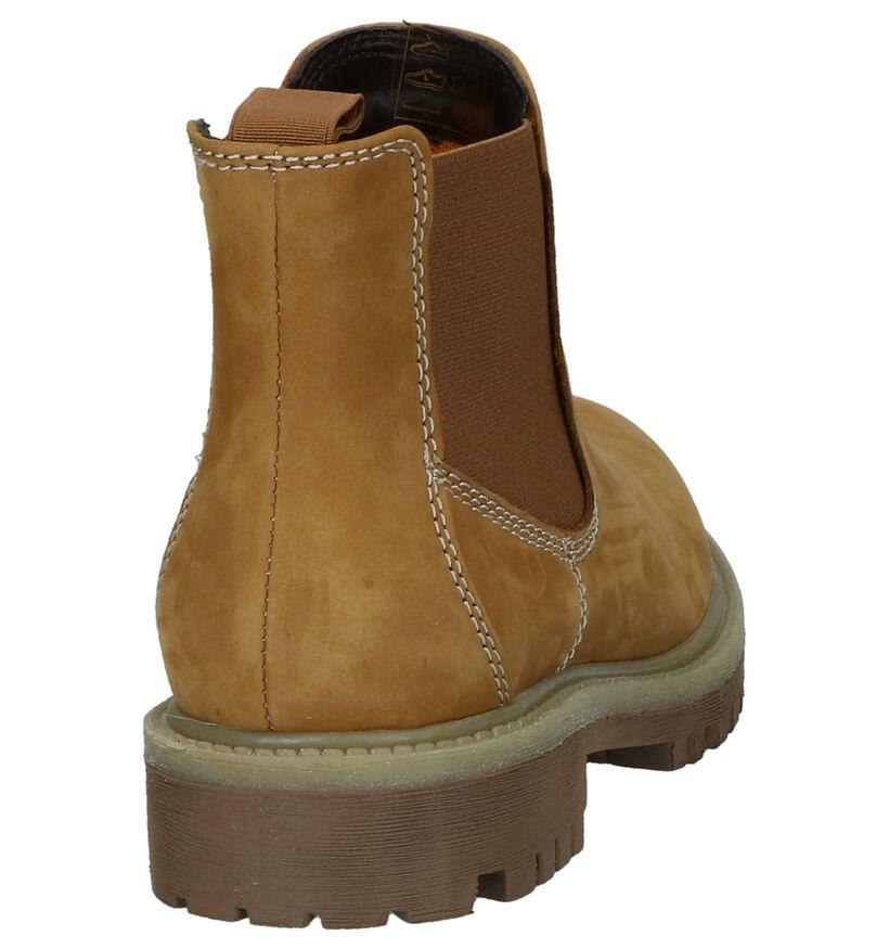 Milo & Mila by Torfs Bruine Chelsea Boots in nubuck (232373)