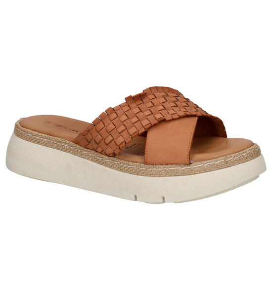 Tamaris Bruine Slippers