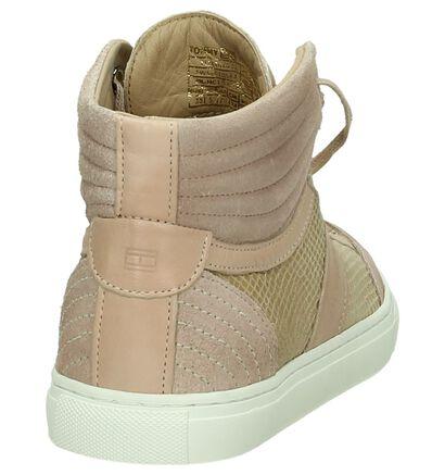 Tommy Hilfiger Roze Hoge Sneaker, Roze, pdp