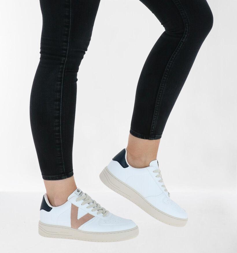 Victoria Witte Sneakers in kunstleer (281929)