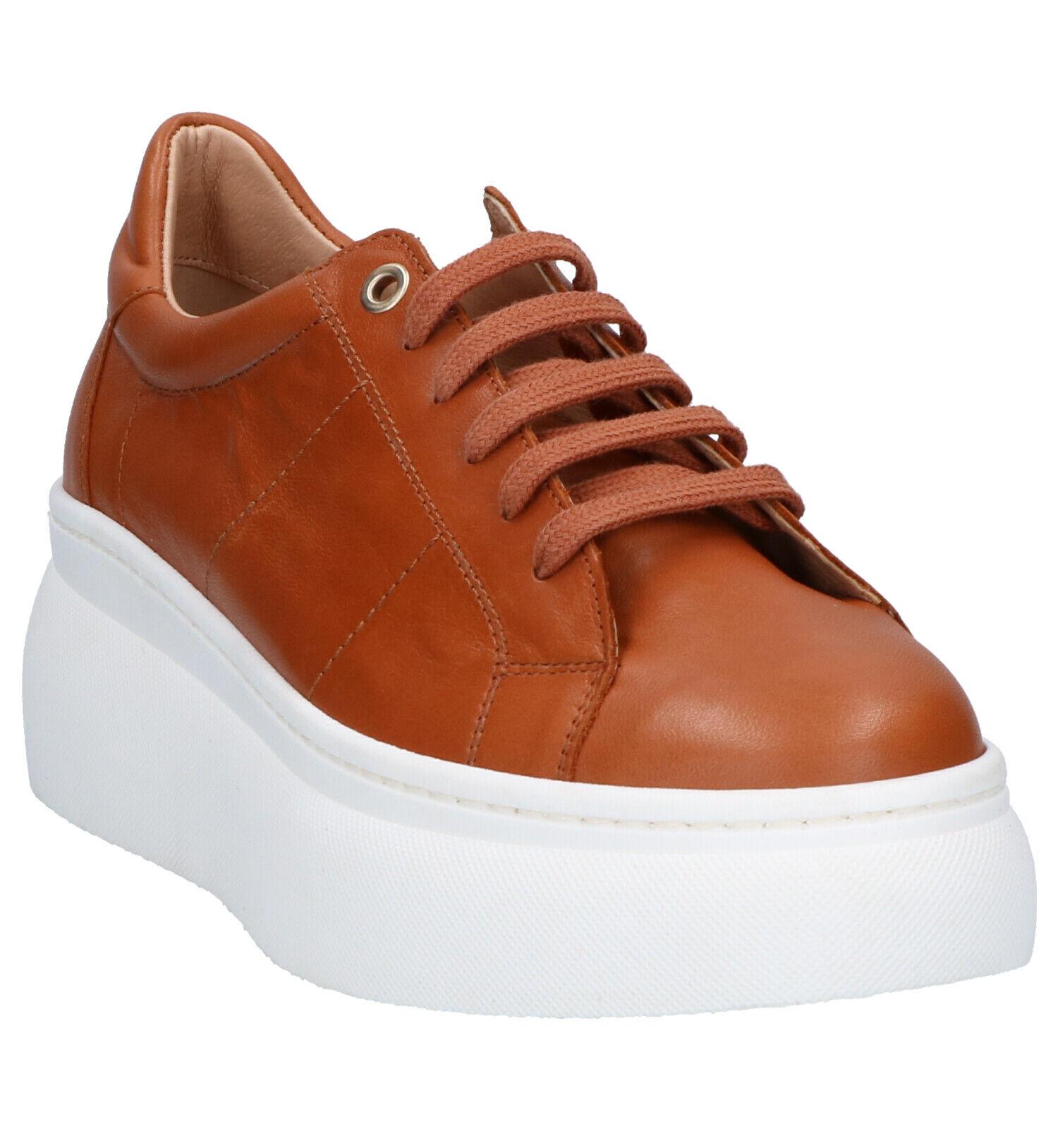Frida Montana Cognac Sneakers