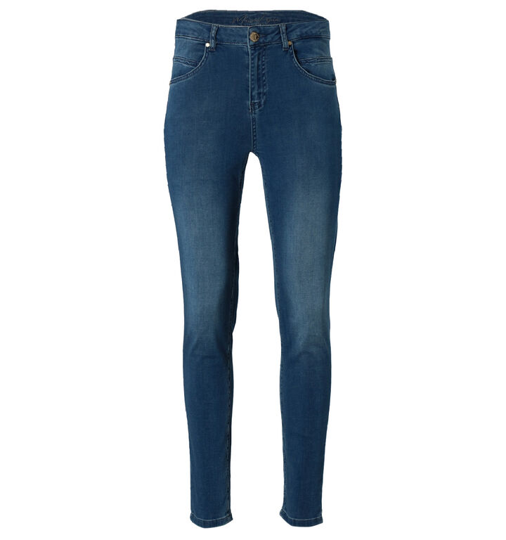 Maison Espin Blauwe Slim Fit Jeans