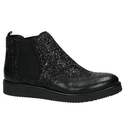 Scapa Zwarte Boots met Glitters, Zwart, pdp
