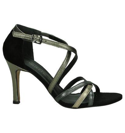 Tamaris Sandalen High Heel Zwart, Zwart, pdp