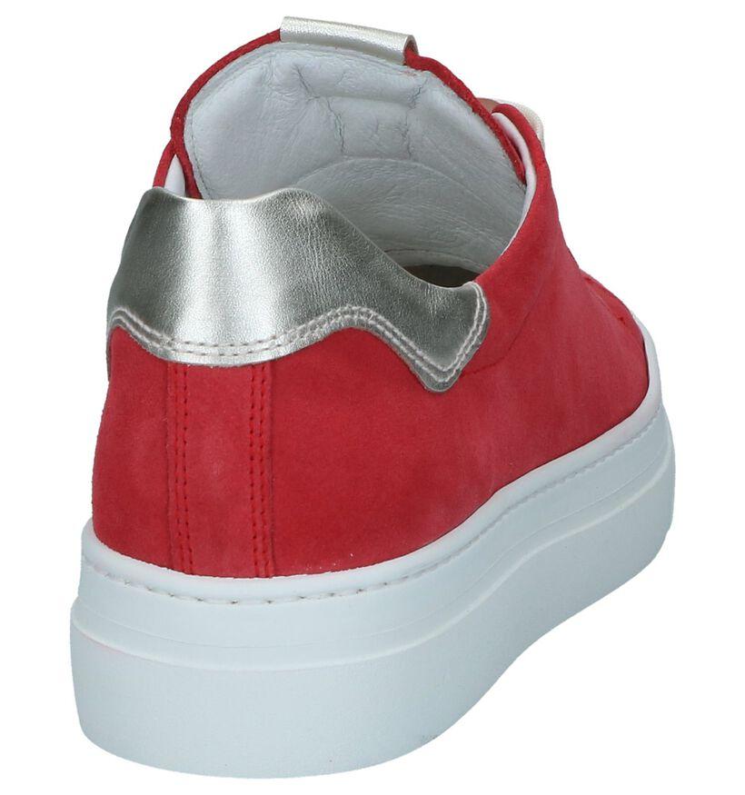 Gele Geklede Sneakers NeroGiardini in daim (244336)