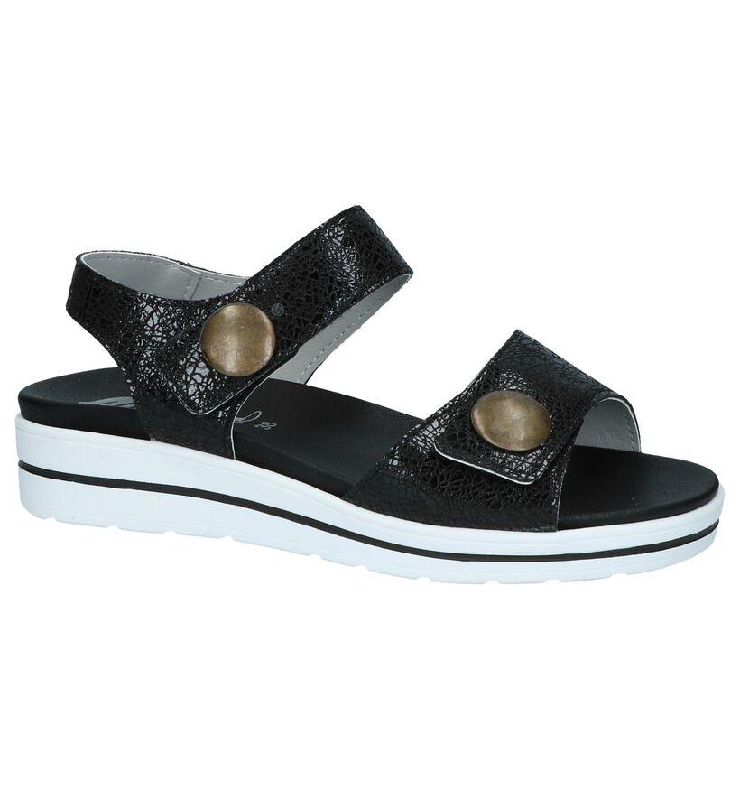 Zwarte Sandalen Mirel in lakleer (246036)