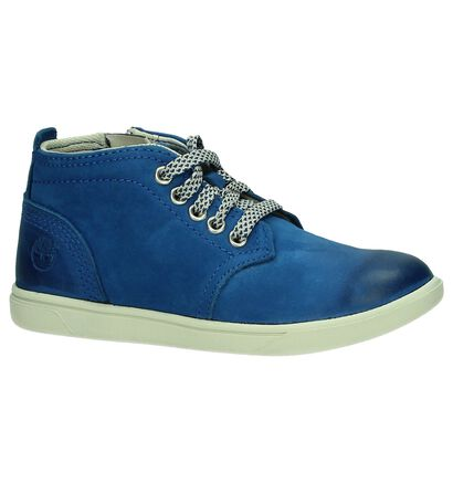 Timberland Groveton Blauwe Boots, Blauw, pdp
