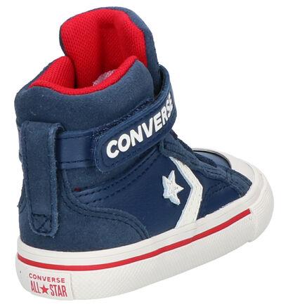 Converse Pro Blaze Zwarte Sneakers in daim (263515)