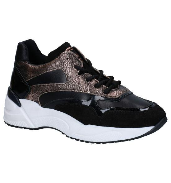 Bullboxer Zwart/Bronzen Sneakers