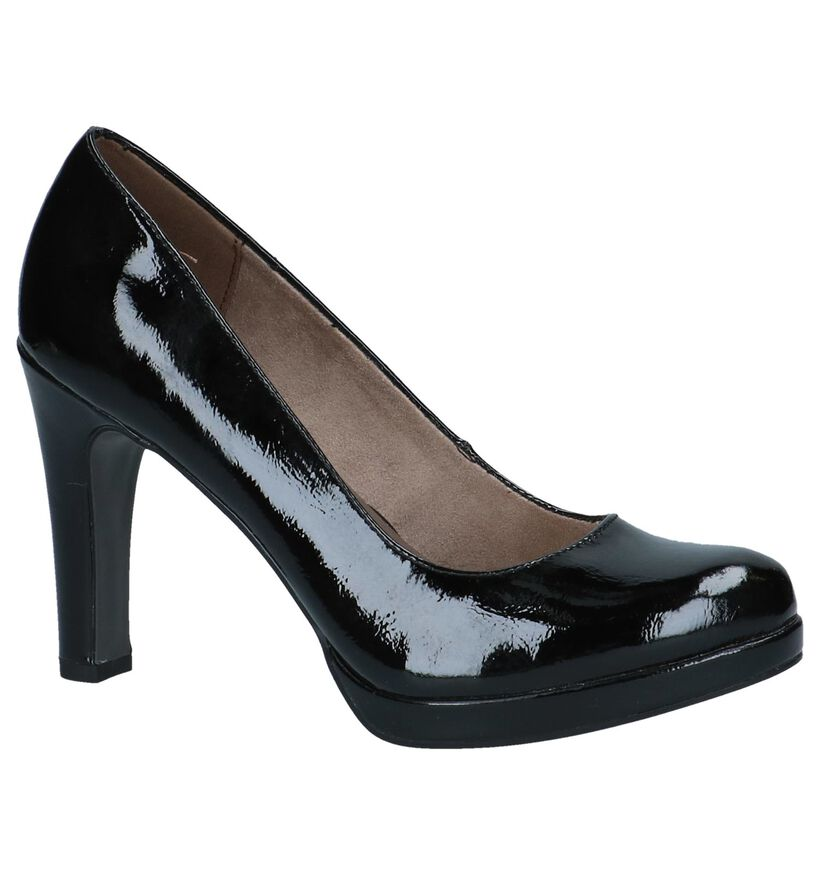 Zwarte Laké Pumps Tamaris TOUCH it in lakleer (237697)