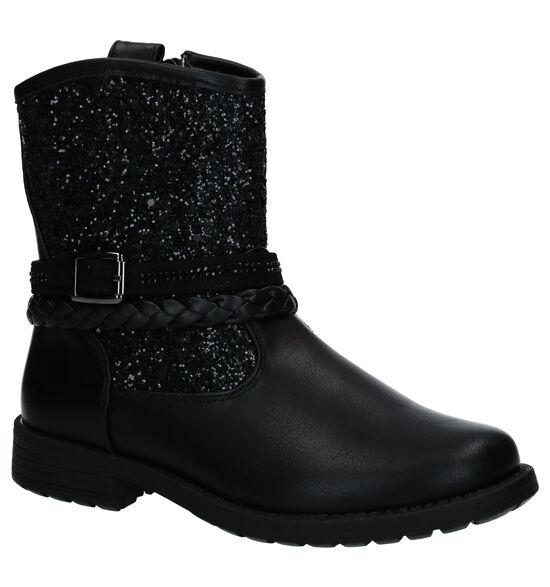 Asso Zwarte Korte Laarzen