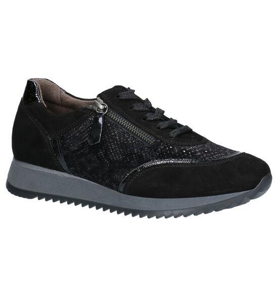 Gabor OptiFit Zwarte Lage Schoenen