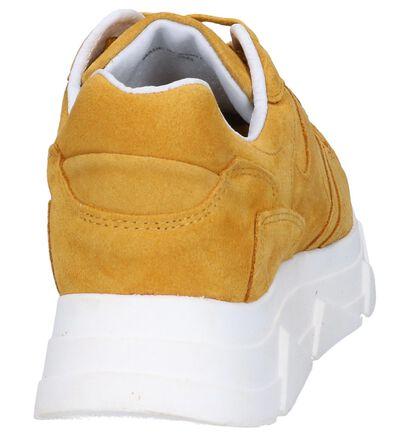 Tango Kady Fat Gele Sneakers in daim (263989)