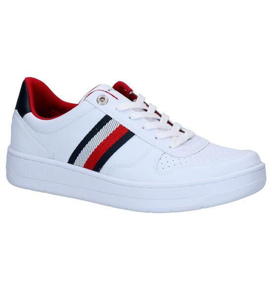 Tommy Hilfiger Basket Low Witte Sneakers