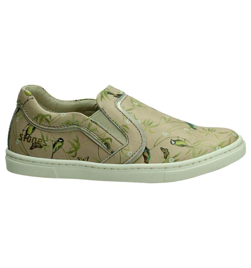 Slip-On Sneaker beige STONES and BONES in leer (190857)