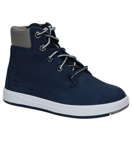 Timberland Davis Square 6 inch Blauwe Boots
