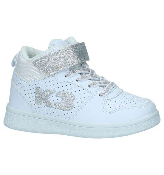 K3 by Torfs Witte Hoge Sneakers