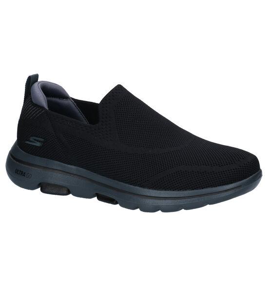 Skechers Go Walk Zwarte Instappers