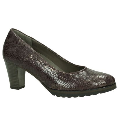 Gabor Optifit Bordeaux Pump met Slangenprint in leer (184831)