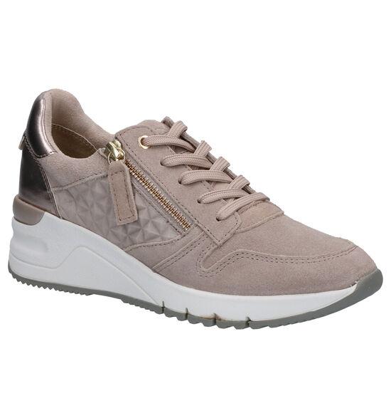 Tamaris Taupe Sneakers