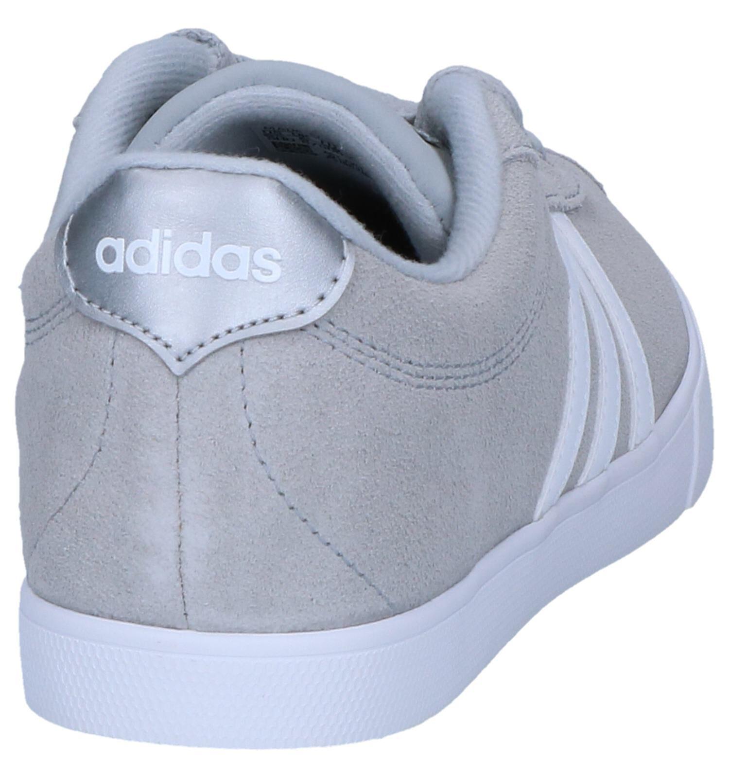 adidas Courtset Lichtgrijze Sneakers