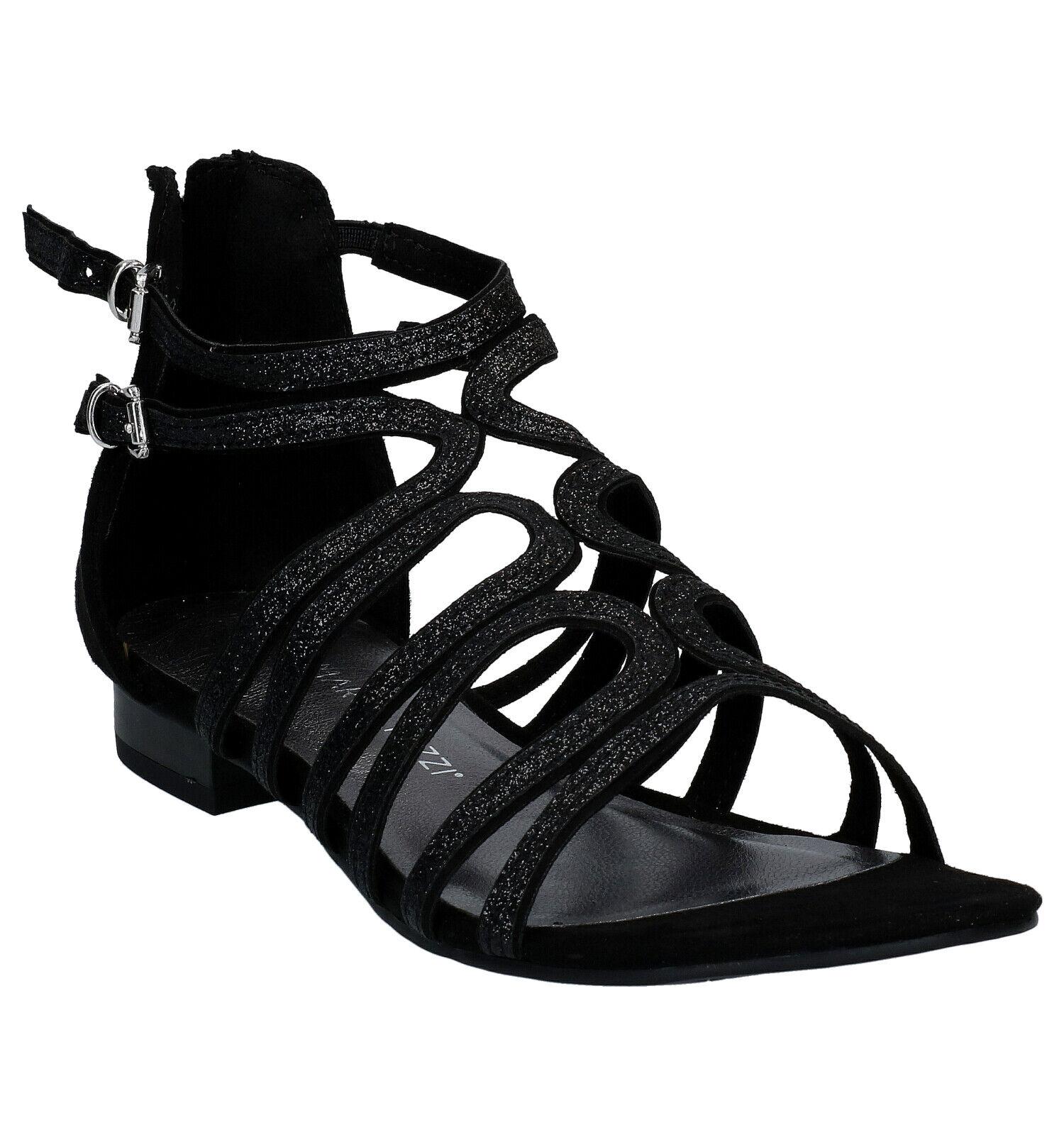 Marco Tozzi Zwarte Sandalen