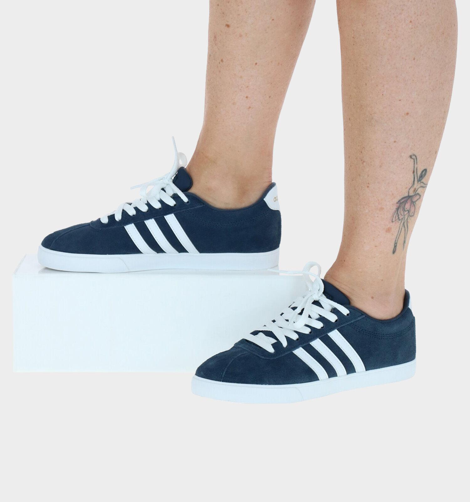 adidas Courtset Blauwe Sneakers