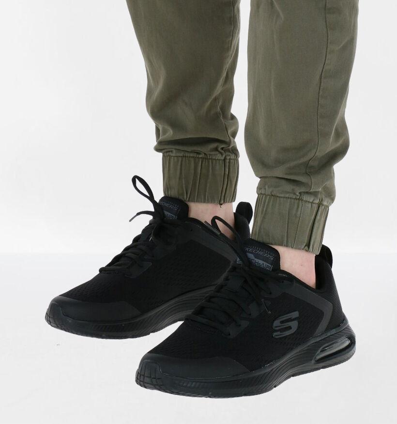 Skechers Dyna-air Pelland Zwarte Sneakers in kunststof (279363)