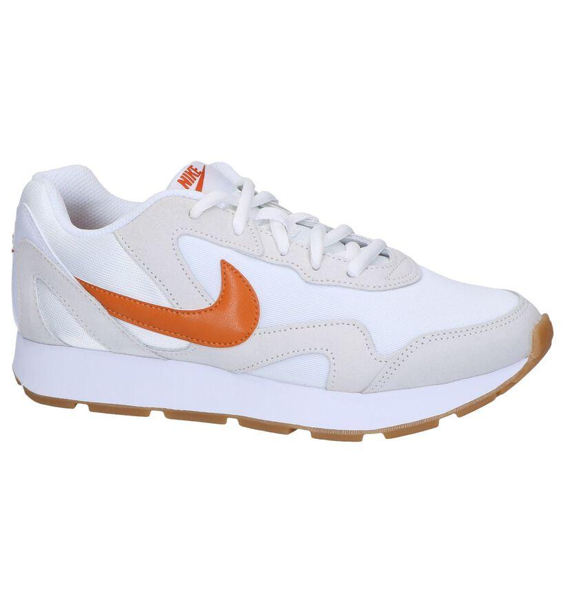 Witte Sneakers Nike Delfine in daim (249805)