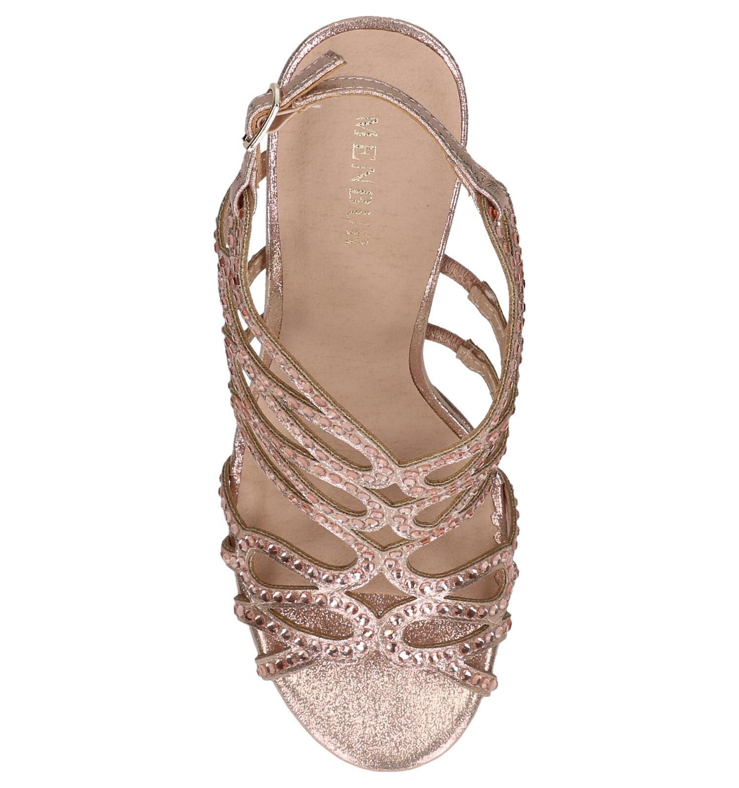 Rose Golden Sandalen Menbur