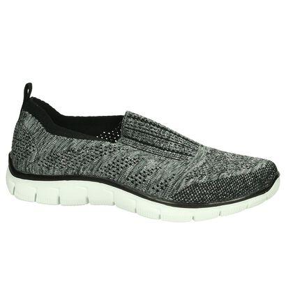 Skechers Zwarte Slip-On Sneakers, Zwart, pdp