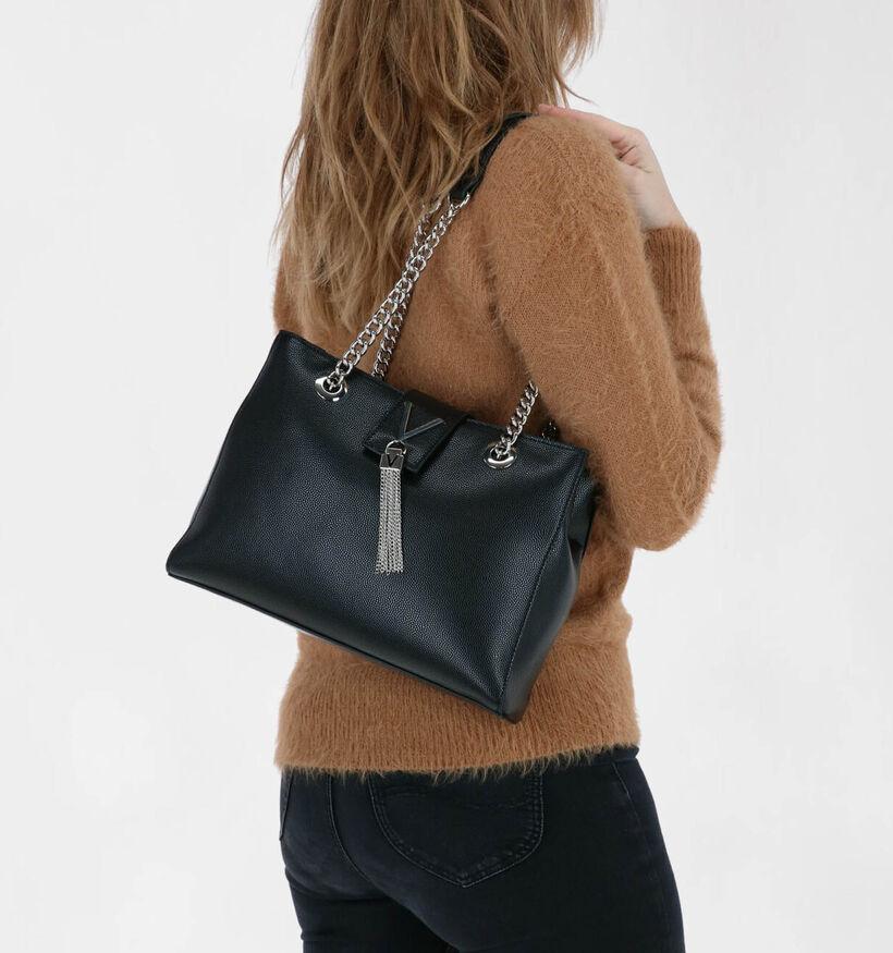 Valentino Handbags Zwarte Schoudertas in kunstleer (283153)