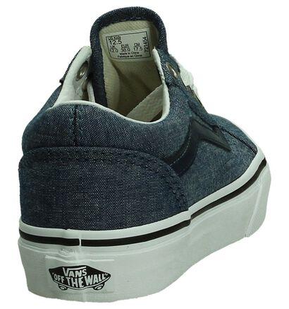 Vans Old Skool Donker Blauwe Skateschoen, Blauw, pdp