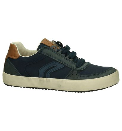 Geox Sneakers Blauw in stof (190663)