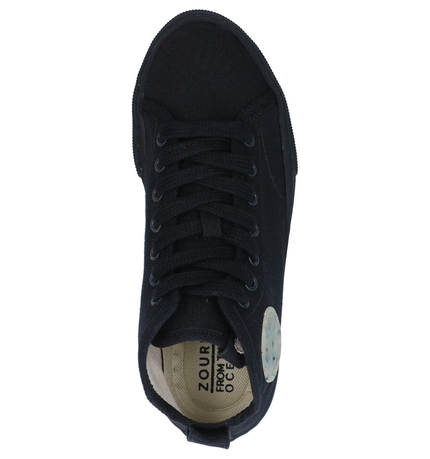 Zouri Zwarte Lage Sneakers